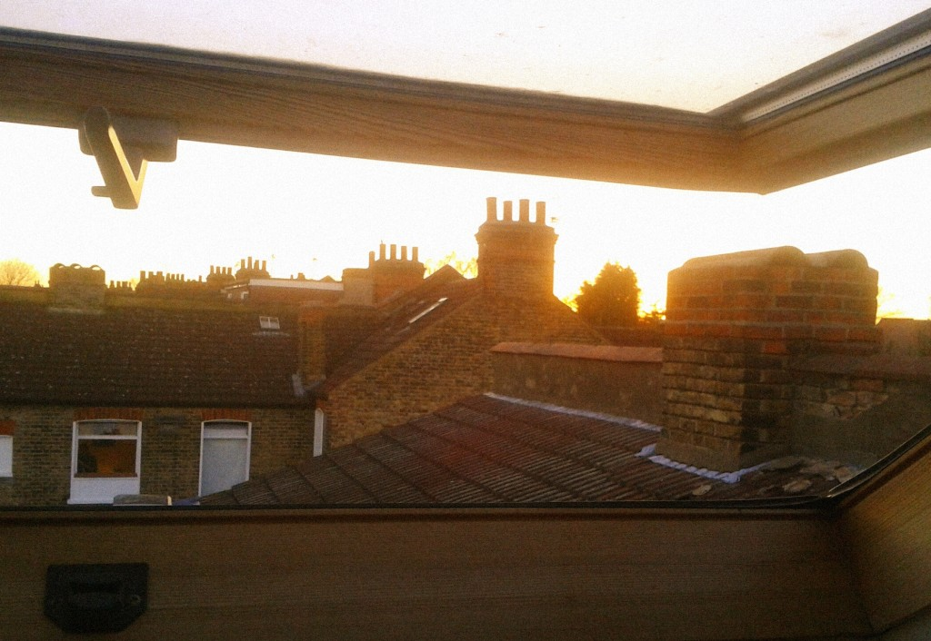 'Somewhere over the rooftops, way up high' Suburban Castles Series