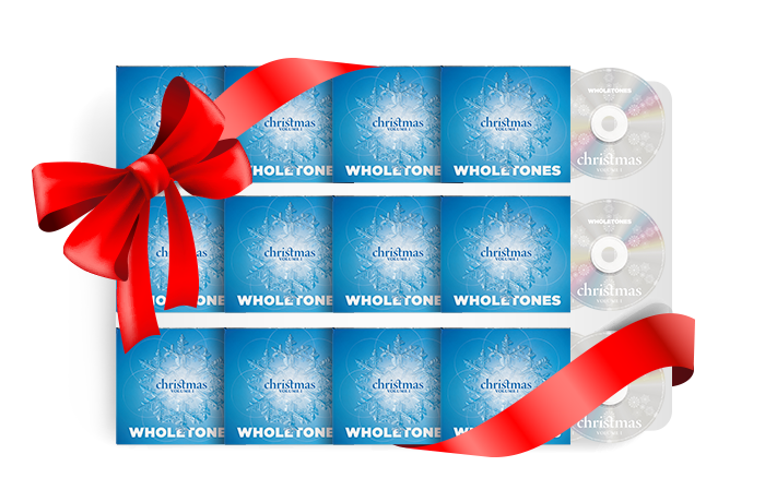 Super Gift Pack - 12 Wholetones Christmas CDs $144