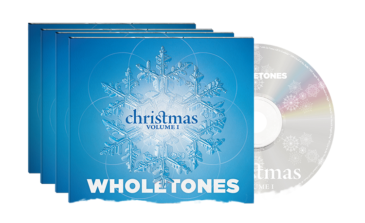 Pack of 4 Wholetones Christmas CDs $67 (most popular)