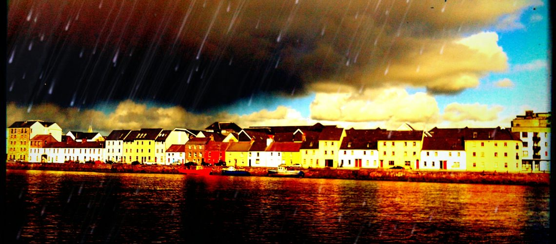 Living in lines, with just a touch of love in Galway, Ireland